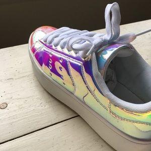 ae1cb8a7c6 J. Adams Shoes | J Adams Rainbow Platform Sneakers 7m | Poshmark